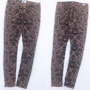 Paige Printed Verdugo Ultra Skinny Jeans